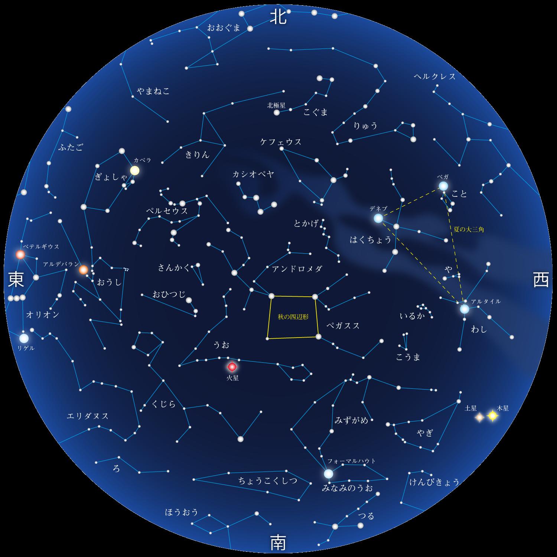 11月の星座