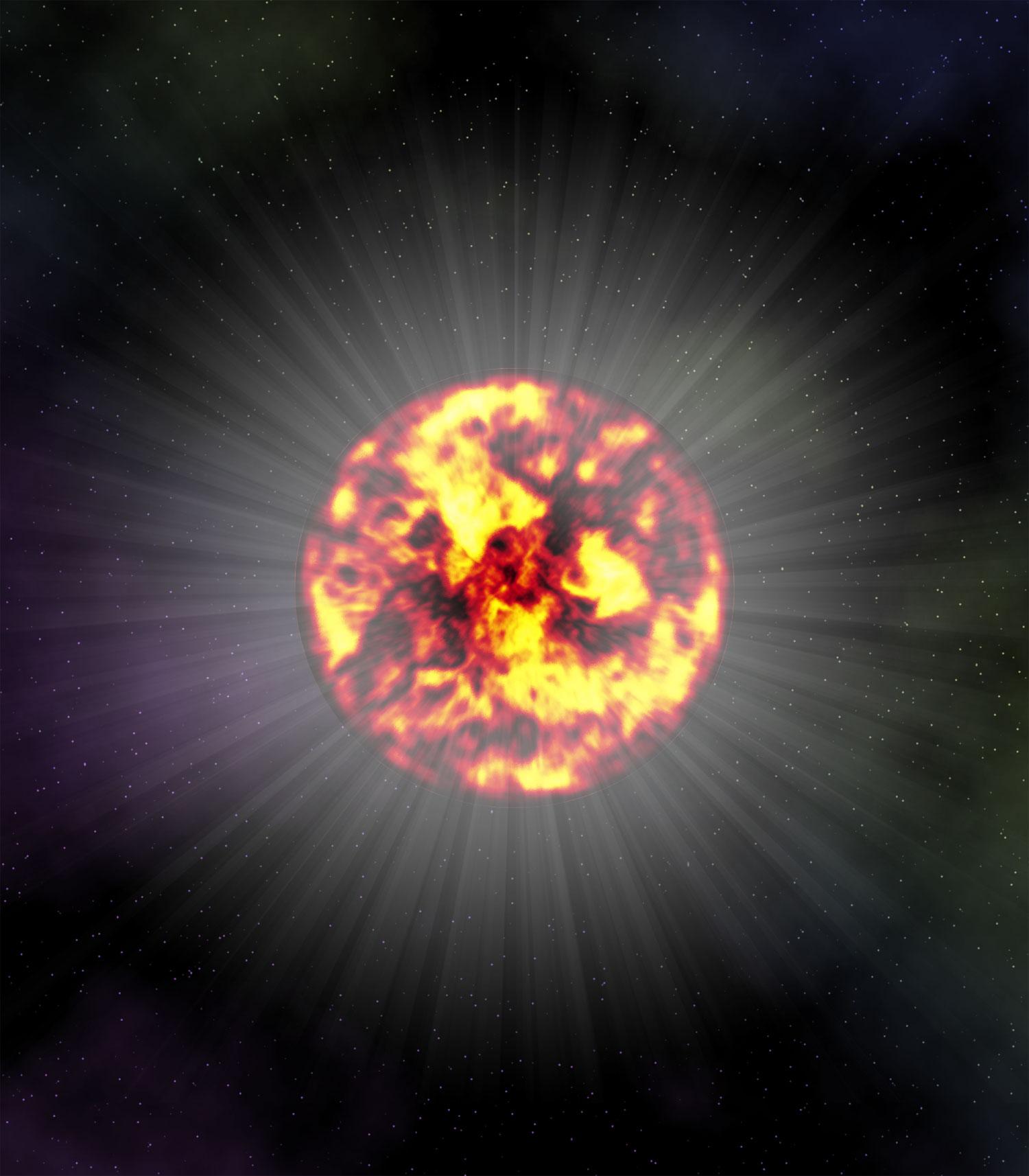 超新星爆発イメージ